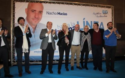 Juan Manuel Moreno no estuvo en la presentación de Nacho Macías