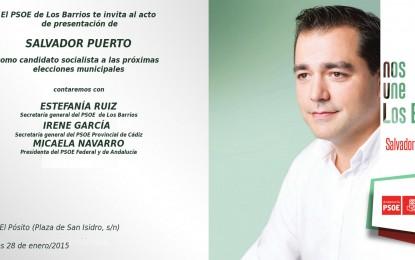 El Edificio Pósito acogerá el próximo miércoles la presentación del candidato socialista a la alcaldía de Los Barrios, Salvador Puerto