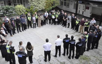 La Policía Real de Gibraltar muestra sus condolencias