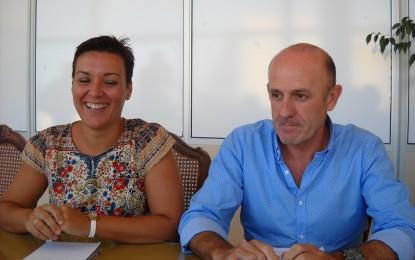 """Gemma Araujo y Ángel Villar encaran 2015 """"por el mismo sendero de la recuperación económica y la mejora de los servicios"""""""