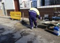 Mantenimiento Urbano acomete arreglos en el acerado de diversas calles