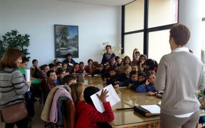"""50 alumnos del Colegio Huerta Fava han participado en el programa de la oferta educativa """"conoce tu ayuntamiento"""