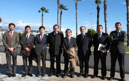 Visita de japoneses a la Autoridad Portuaria