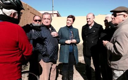 Araujo y Villar, satisfechos del nivel de limpieza alcanzado en la zona de Paraíso María Guerrero