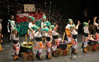 La alta participación y la ausencia de incidentes protagonizan el Carnaval de la Concha Fina