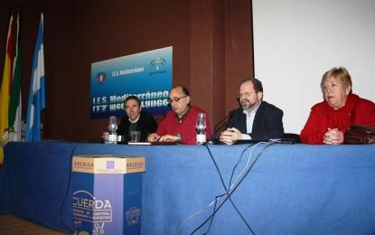 Conferencia de  John Cortes en el IES Mediterráneo