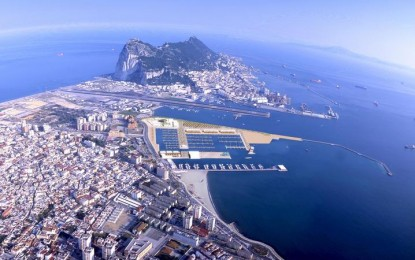 Gibraltar recibe al buque de la Royal Navy HMS Echo en el marco de una visita rutinaria en la que también participará en la Semana Marítima del Peñón