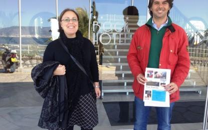 Gema Arceiz prosigue con los contactos en materia de difusión turística entre los profesionales del sector