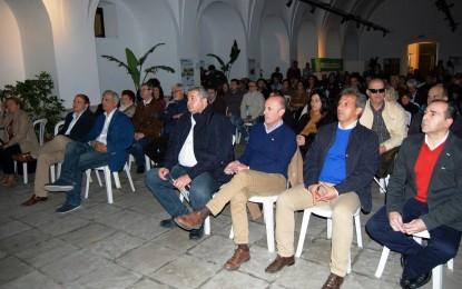 Discurso valiente, muy linense, y en contra de las políticas actuales del Gobierno central con Gibraltar de Ángel Villar en la presentación de todos los candidatos del PA de la comarca
