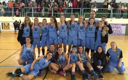 El  equipo Cadete Femenino de ASUR Hoteles ULB clasificado para el Campeonato de Andalucía