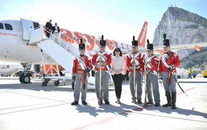 Ayer se inauguró la conexión aérea de EasyJet entre Bristol y Gibraltar