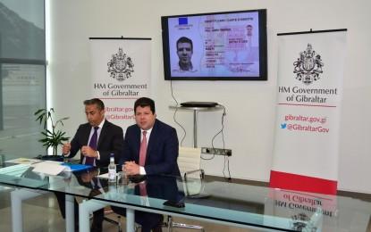 La cédula de identidad electrónica de Gibraltar tendrá las características de seguridad más sofisticadas del mundo