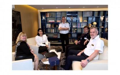 Dos escalas inaugurales de cruceros en Gibraltar en lo que va de semana