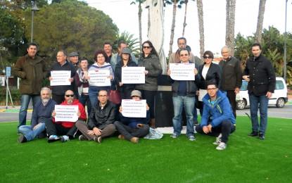 La Plataforma de Ciudadanos Perjudicados por Romero exige una consulta sobre la sustitución y eliminación de zonas verdes en el municipio