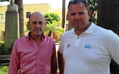 Villar recibe al medallista Rafael Trujillo y conoce sus nuevos proyectos