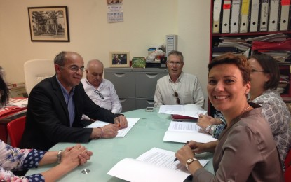 Gemma Araujo, candidata a la alcaldía de La Línea se reune con Apymell y valora el esfuerzo de los empresarios linenses en beneficio de la ciudad
