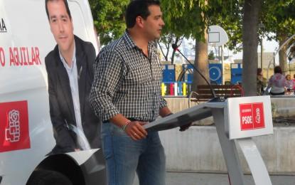 """Puerto pide la confianza y el apoyo de los vecinos """"para volver a conseguir que Palmones prospere"""""""
