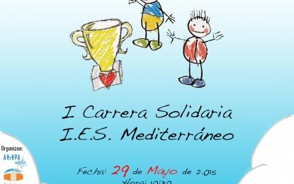 Carrera solidaria del IES Mediterráneo de La Línea