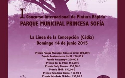 """Convocado el primer concurso internacional de pintura rápida """"Parque municipal Princesa Sofía"""" con una dotación conjunta de 1.800 euros"""