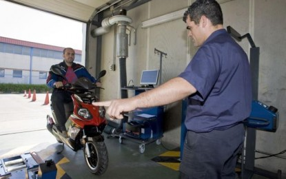 26, 27 y 28 de mayo, ITV para ciclomotores