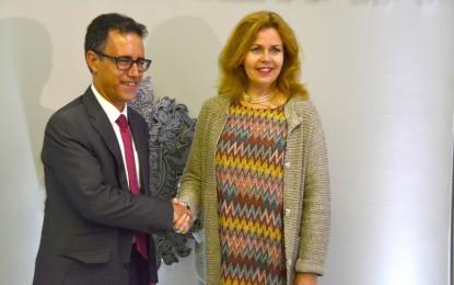 El Viceministro Principal de Gibraltar, Joseph Garcia, continúa en Bruselas y ha proseguido hoy con su apretada agenda de reuniones