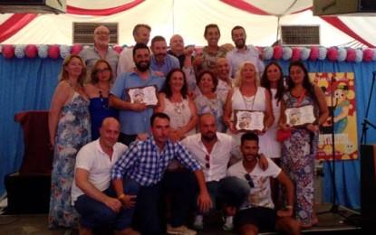 Turi Turi entregó ayer sus premios a Marcos Moreno, Pilar García y Hogar Betania