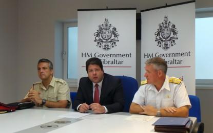 Mejoras en las prestaciones de alojamiento para los miembros del Real Regimiento de Gibraltar