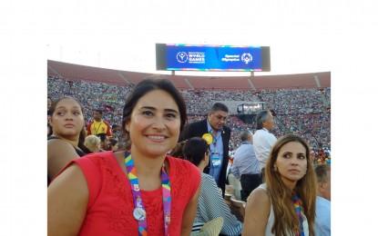 Francis Mauro gana la primera medalla para Gibraltar en los Juegos Olímpicos Especiales Mundiales en Los Ángeles