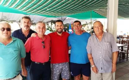 El alcalde, Juan Franco, visitó 'El Aguila Real'