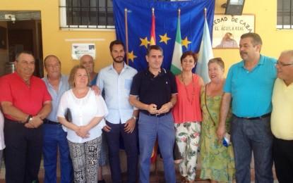 """El concejal de Pesca, Mario Fernández, preside la declaración de """"El Aguila Real"""" como miembro de la unión de europeistas y federalistas de Andalucía"""