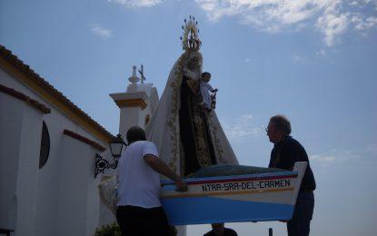 Previsto un itinerario alternativo para la procesión en caso de que las condiciones metereológicas impidan el embarque de la Virgen del Carmen