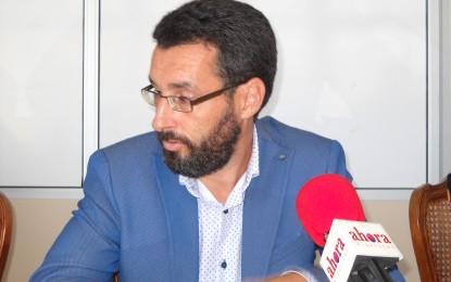 Franco no descarta el año que viene cambiar la ubicación de la Feria de La Línea, para vender la parcela aeroportuaria