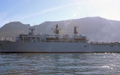 El HMS Bulwark atracará en Gibraltar