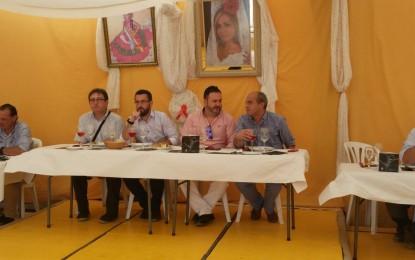 Apymel realizó la cata de vinos en la Caseta El Patio