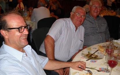 La Hermandad de la Inmaculada celebró su cena en la caseta de ULB