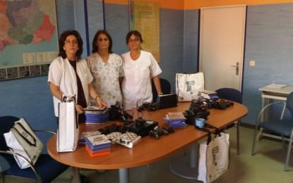Los menores ingresados en el Hospital de La Línea disfrutarán de las consolas donadas por la Fundación Juegaterapia