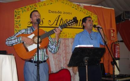 'Marisma y Arena' actuaron en la caseta de Los Aparentaos