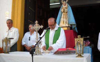 La tradicional misa fue el inicio del Domingo Rociero en La Línea
