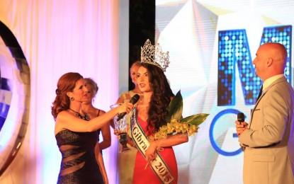 Hannah Bado, coronada Miss Gibraltar 2015