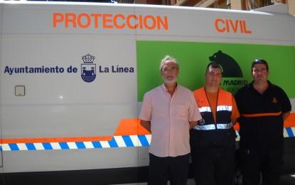 Dispositivo de Protección Civil para cubrir las emergencias en el Domingo Rociero