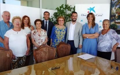 La coordinadora Despierta y Asansull beneficiadas por sendos convenios firmados hoy con La Caixa