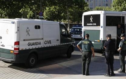 Dos detenidos con 950 kilos de hachís en La Línea