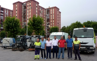 El Ayuntamiento adquirirá una nueva máquina barredora y dos mini-camiones de limpieza