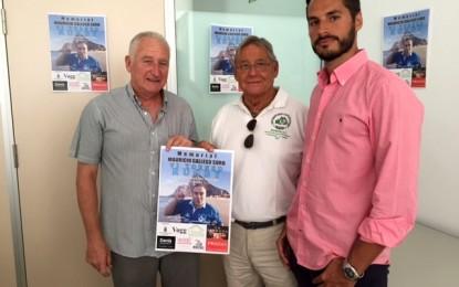 """Pepe Gallego, Helenio Lucas, y Mario Fernández presentan el VI torneo de rugby """"memorial Mauricio Gallego Soro"""""""