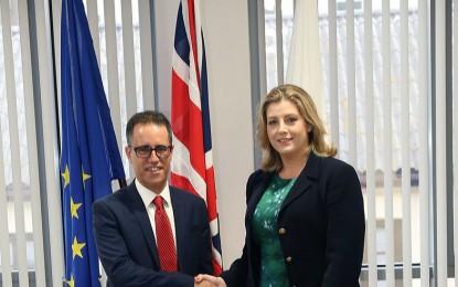 Sintonía y positivas conclusiones de la reunión con la Ministra para las Fuerzas Armadas