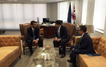 Juan Franco y Fabian Picardo se comprometen a que La Línea y Gibraltar trabajen conjuntamente en beneficio de los ciudadanos de ambos lados de la verja