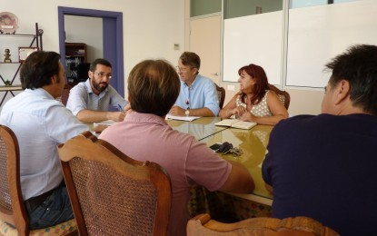 El alcalde felicita a Alaho por la organización y el éxito de la cuarta edición de la Ruta de la Tapa