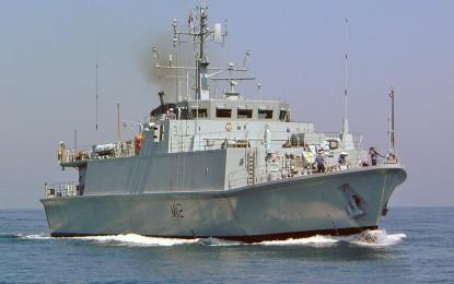 Aprovisionamiento en Gibraltar de efectivos navales británicos desde Oriente Medio