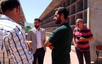 Villar pide a Franco que solucione el entuerto que el Concejal Delegado de Cementerios ha provocado en el Camposanto Linense