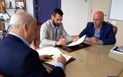 La zona franca inicia los trámites para el estudio geotécnico de la parcela del centro de negocios de La Línea